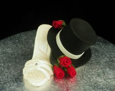 gumpaste wedding cake toppers - Google Search