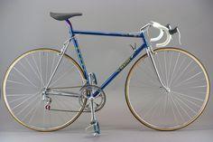 """1982 Magni ICS: Custom built by Smolik. The whole bike weights just 5 kg. """