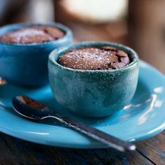 Mexican Chocolate Soufflés Recipe _ You can omit the small amount of coffee liqueur without drastically changing the flavor. Contemporary Mexican chefs often add ground red pepper to their chocolate desserts; leave it out if you want a more traditional taste.