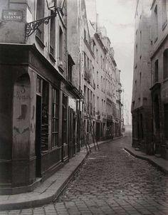 Charles Marville, Rue Galande 1860