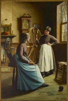 George Agnew Reid, Gossip, 1888-Blog of an Art Admirer: 19th century
