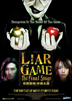 Liar Game: The Final Stage Movie based on liar game(book)