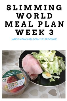 Newcastle Family Life: Slimming World Meal Plan Three
