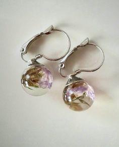 7332b7934 9 Best Flower Earrings images | Flower earrings, Chiffon fabric ...