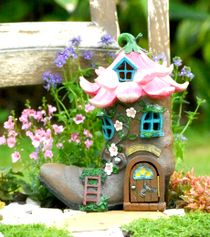 windmill house w opening door fairy garden cottages pinterest rh pinterest com fairy garden cottages For the Garden Fairy Houses