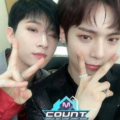 "79 Likes, 2 Comments - MONSTA X 몬스타엑스 (@monstaxupdates) on Instagram: ""032317 MCOUNTDOWN Twitter Update with [#MONSTAX]"""