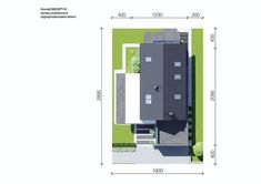 DOM.PL™ - Projekt domu CPT HomeKONCEPT-51 CE - DOM CP1-60 - gotowy koszt budowy Concept Home, Design Case, Ideal Home, Locker Storage, Living Room Decor, Exterior, House Design, Modern, Furniture