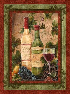 In Vino Veritas Mixed Media by Jean Plout - In Vino Veritas Fine Art Prints and Posters for Sale