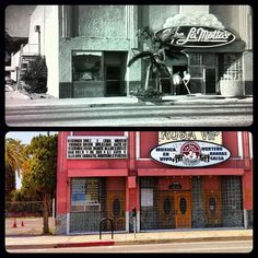 """Then and Now: Dancing Waters, now named La Zona Rosa, once doubled as Jake LaMotta's Club in Martin Scorsese's """"Raging Bull"""" (1980)."""