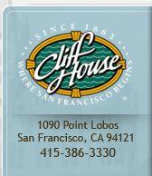 Cliff House logo - Since 1863 - Where San Francisco Begins