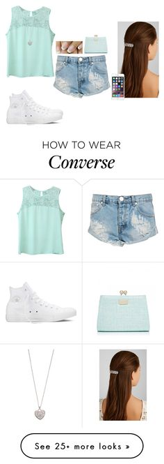 """Untitled #607"" by hannahmcpherson12 on Polyvore featuring moda, Converse, Jennifer Behr, One Teaspoon, Accessorize i Forever New"