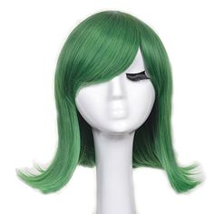 Yuehong New Fashion Short Green Ainme Party Cosplay Costume Hair Wigs >>> This is an Amazon Affiliate link. For more information, visit image link.
