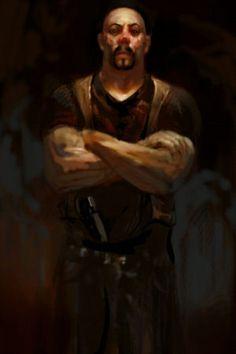 Hunter 2 - concept art | Vampire the Masquerade: Bloodlines