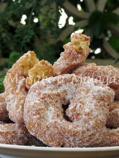 Spanish Food, Spanish Recipes, First Bite, Malaga, Deli, Bagel, Donuts, Sweet Tooth, Food And Drink
