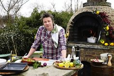 jamie oliver and his pizza oven