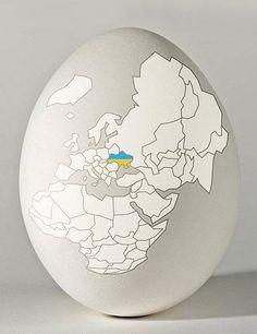 Happy Easter Ukraine! ~ Христос Воскрес! Воскресне Україна!