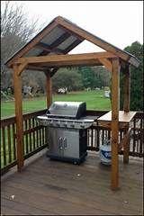 BBQ Hut   Bbq hut, Outdoor grill Barbecue Gazebo, Grill Gazebo, Outdoor Grill Area, Outdoor Kitchen Countertops, Outdoor Kitchen Design, Diy Kitchen, Granite Countertops, Grill Diy, Grill Canopy