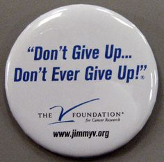 The V Foundation for Cancer Research inspired by Coach Jim Valvano