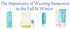The Importance Of Wearing Sunscreen In Fall. Just because Summer ends, don't forget sunscreen.
