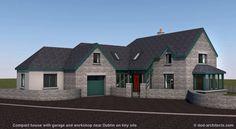 Cottage style House Near Dublin Cottage Style Homes, Simple Style, Dublin, House Design, House Styles, Image, Ideas, Home Decor, Decoration Home