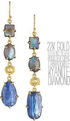 18k gold sterling silver handmade earrings rose cut diamond