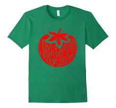 I Love Gardening From My Head Tomatoes - Funny Gardening Tee