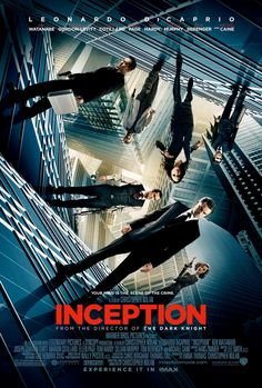 Inception had lots of great artwork for it's posters.