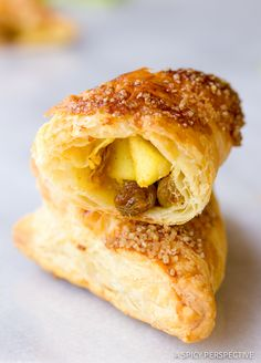 Apple turnovers, Sugar and spice and Apple turnover recipe on ...