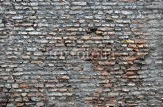 Old Roman brick wall texture wallpaper