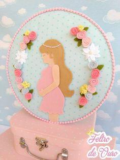 Dia das Mães em Feltro - Sugestão de Presentes e Lembrancinhas. Dia das Mães; Feltro; Molde; Artesanato em Feltro; Moldes de Feltro; Mother's Day; Felt; Fieltro.