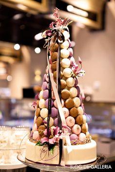 오뗄두스(Hotel Douce)의 마카롱 케이크장식입니다!