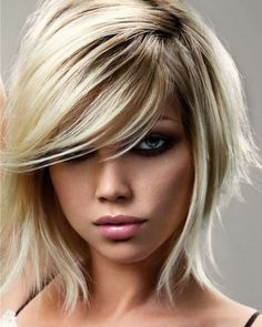 Kurzhaarfrisuren Blond 2013
