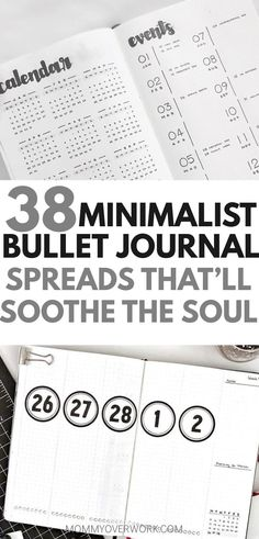 Want a minimalist bullet journal layout for inspiration? If your goal is to do more with less, then check out these stunning ideas. You'll find all kinds of collection pages include key, index, budget & finances, workout, monthly cover, habit tracker, yearly calendar, future log, daily log, weekly spreads, books to read, and more to setup your minimalist bujo. Simple header and banner ideas, monochromatic highlighting and other tips.