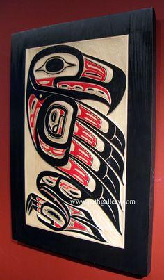 Ya'Ya Eagle Panel - Northwest Coast Native Art