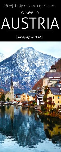 30+ Truly Charming Places To See in Austria #travel #austria