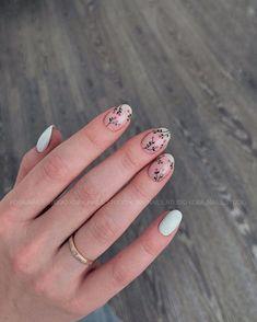 Nail art Christmas - the festive spirit on the nails. Over 70 creative ideas and tutorials - My Nails Acrylic Nails, Gel Nails, Nail Polish, Toenails, Cute Nails, Pretty Nails, Minimalist Nails, Stylish Nails, Nail Decorations