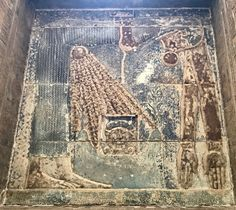 Hathor Chapel at Dendera Temple with depiction of Nut goddess of the Sky Nut Goddess, Egypt Travel, Ancient Egypt, Mythology, Egyptian, Temple, Vintage World Maps, Canvas Art, Ornament