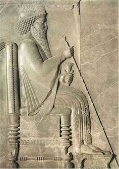 "Xerxes I of Persia (meaning ""ruling over heroes""), also known as Xerxes the Great (519–465 BC), was the fourth King of Kings of Persia. Immediately after seizing the kingship, Darius I of Persia (son of Hystaspes) married Atossa (daughter of Cyrus the Great). Xerxes was crowned and succeeded his father Darius I, when he was about 36 years old. The transition of power to Xerxes was smooth due again in part to the great authority of Atossa."