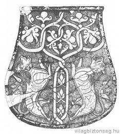 Tarsoly alakú régészeti leletek és egyéb ábrázolások - Etelközi tarsolylemez - Világbiztonság