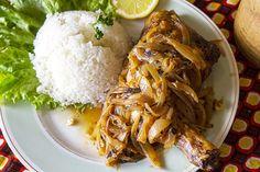 Poulet Sénégalais, dit poulet yassa