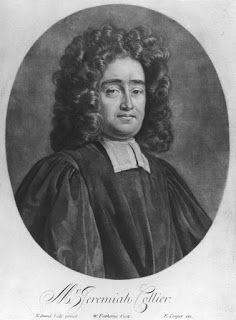 Reformed Anglicans: 23 September 1650 A.D.  Jeremy Collier Born—Non-Ju...
