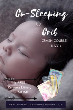 Co-sleeping to Crib Crash Course DAY 2- Make that transition from co-sleeping to crib a blissful one with this 4 day mini series. Each day goes over strategic methods to easily transition from co-sleeping to crib! In addition, gain access to our FREE online resource library from moms. Jam packed with printables sto make your life easier. Click to read how!