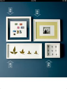 Frame stamp collection