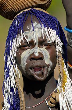 Efiopia. Tribu Murzi (22 fotos) 6