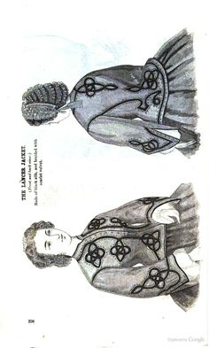 Godey's Magazine - Google Books 1862. (Sorry it's sideways but that's how it was originally pinned. LC)