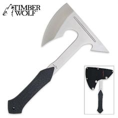 Ninja weapons such as the throwing axe, masakari, or ninja ono for sale at great prices at All Ninja Gear! We carry throwing axes from well respected brands such as United Cutlery and Kit Rae. Buy throwing tomahawks from All Ninja Gear! Survival Food, Camping Survival, Survival Gear, Ninja Gear, Ninja Weapons, Weapons Guns, Throwing Axe, Timber Wolf, Tatuajes