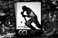 #Brochure & #Brand #Design for Corporate Cricket League Tournament