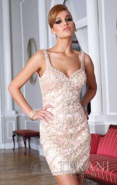 Terani C1284 Dress available at www.missesdressy.com