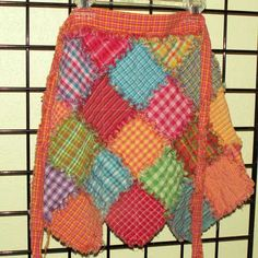 homespun rag patchwork apron.. tutorial . from the wonderful Jubilee!