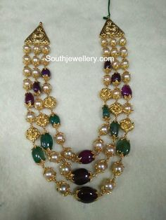 Nakshi Balls and Beads Mala photo